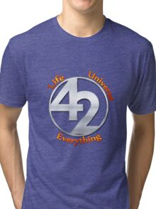 42 - The Ultimate Answer Tri-blend T-Shirt
