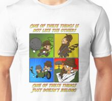 One of These Things Indy Unisex T-Shirt