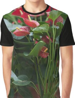 anthurium Graphic T-Shirt