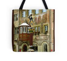 Historic Fountain in Stein am Rhein Tote Bag