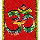 Vibrant Om by ramanandr