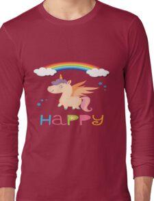 My little Happy Pony! Long Sleeve T-Shirt