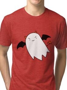 Red Devil Ghost Tri-blend T-Shirt