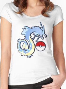 los gyarados  Women's Fitted Scoop T-Shirt