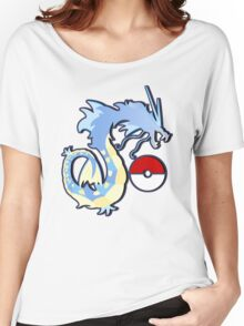los gyarados  Women's Relaxed Fit T-Shirt
