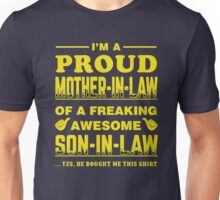 I'm Proud mother in law Xmas Shirt Unisex T-Shirt