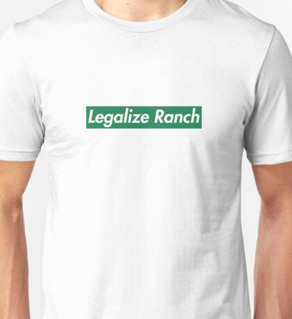 Legalize Ranch - Green Unisex T-Shirt