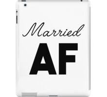 Married AF iPad Case/Skin