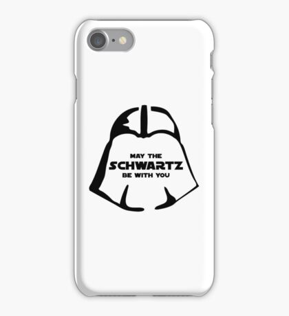 Schwartz Be With you iPhone Case/Skin