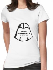 Schwartz Be With you Womens Fitted T-Shirt