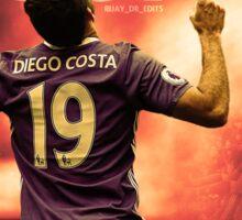 Diego Costa | Chelsea Sticker
