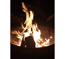 The Flames of Fall Photographic Print