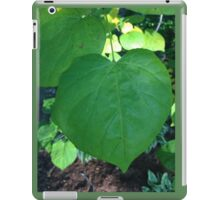 heart leaves iPad Case/Skin
