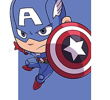 Captain America by gunyuloid