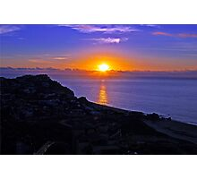 Sunrise over Cabo San Lucas Baja Mexico Photographic Print