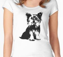 Yorkie Love Women's Fitted Scoop T-Shirt