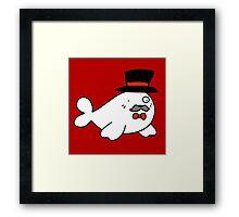 Sophisticated Seal Framed Print