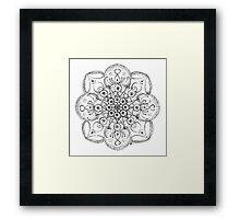 Flower of the Universe Framed Print