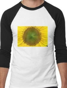 Sunflowers Men's Baseball ¾ T-Shirt