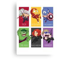 Avenger Assemble! Canvas Print