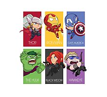 Avenger Assemble! Photographic Print