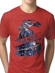 OVERWATCH HANZO Tri-blend T-Shirt