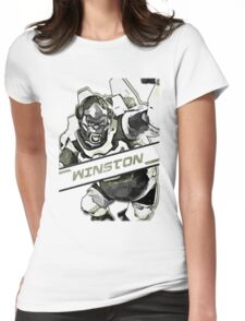 OVERWATCH WINSTON Womens Fitted T-Shirt