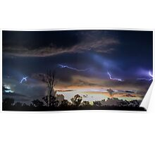 Acacia Electrical Storm Poster