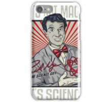 "Official Bill Nye ""It's Science"" Tee iPhone Case/Skin"