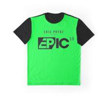 EPIC 5.0 black Graphic T-Shirt