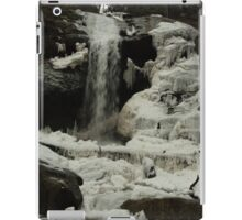 Frozen waterfall iPad Case/Skin