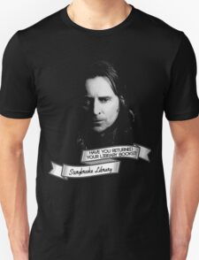 Return your Library Books or Else.... T-Shirt