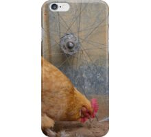 Cyclist Hen iPhone Case/Skin