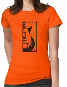 Les Paul Guitar - Jimmy Page Womens Fitted T-Shirt