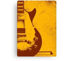 Les Paul Guitar - Jimmy Page Canvas Print