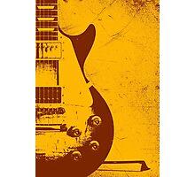 Les Paul Guitar - Jimmy Page Photographic Print