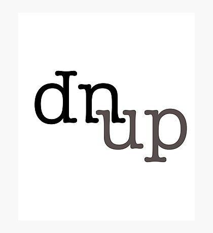 up's and dn's Photographic Print