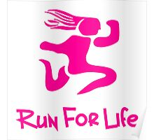 Run For Life Poster