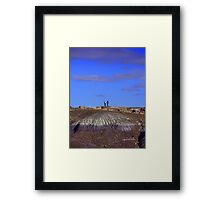Humans and Nature Framed Print