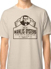 Manlis Brand Oysters Classic T-Shirt