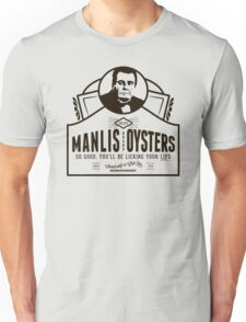 Manlis Brand Oysters T-Shirt Unisex T-Shirt