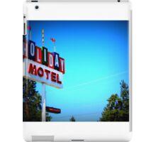 Retro Motel...In Bend, Oregon iPad Case/Skin