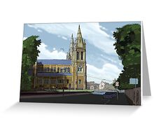Cathedral Adelaide Greeting Card