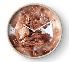 Tied hydrangea flowers called hortensia Clock
