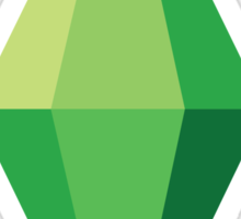 The Sims Plumbob Sticker
