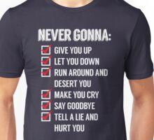 Rickrolled Unisex T-Shirt