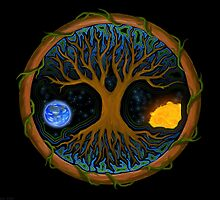 Astral Tree of Life by VisionQuestArts
