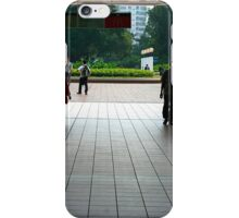 Subway entrance, Kowloon Park iPhone Case/Skin