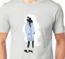100 Days. Lady with white hair. Unisex T-Shirt