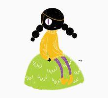 100 Days. Lady sitting on a hillock. Unisex T-Shirt